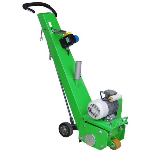 Die leichte und handliche Bodenfräsmaschine DBF-200-E230 ist entweder mit elektronischem oder Benzin-Motor erhältlich, optimal für kleine Flächen geeignet.