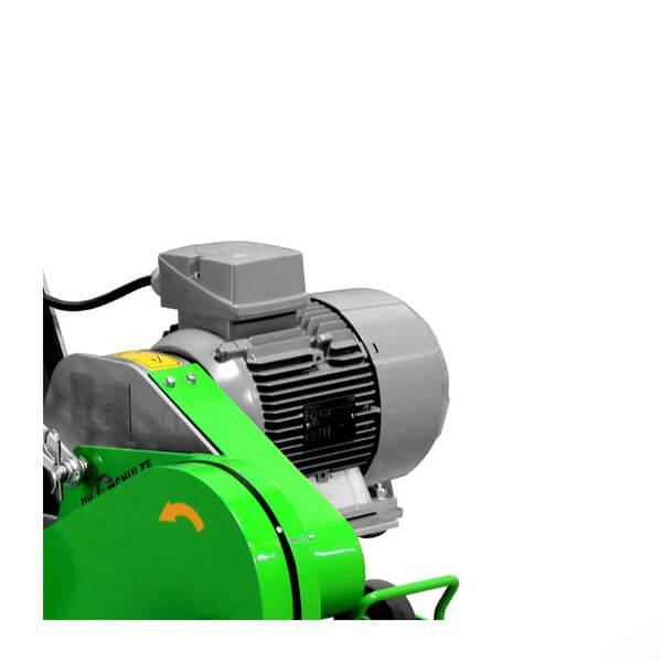 Das moderne Design des Riss- und Fasenfräsers DCS-200 begeistert bereits auf dem Produktbild mit zum Beispiel glänzenden Farben und neuartigen Bauteilen.