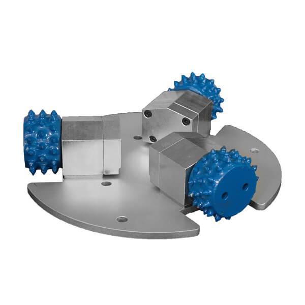 Das Produktwerkzeug der DRS-Mill zeigt die innovative Bodenfrästechnik mit effizienter Anwendungstechnologie aus nächster Nähe für einen besseren Eindruck.