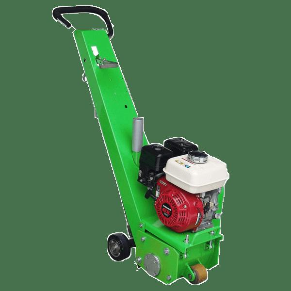 Wie auf dem Produktbild zu erkennen ist der leistungsfähige Motor der Bodenfräsmaschine DBF-200-B der wichtigste Bestandteil der modernen Maschine.