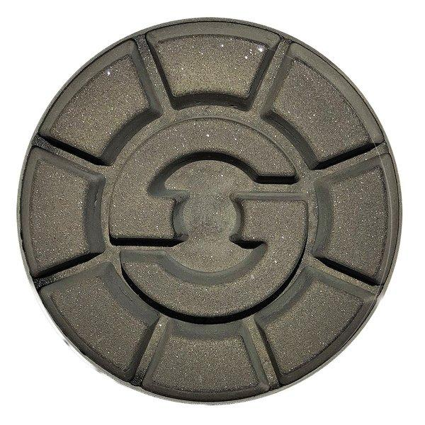 Ein schlichtes Design und verlässliche Anwendungen machen das kunststoffgebundene Polierwerkzeug DRS-CeramMaster – Concrete besonders attraktiv.