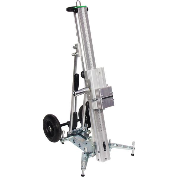 Silver drill stand D-350 RS of the series D convinces with variability and a simple design as well as some supporting aids for a secure tillage.