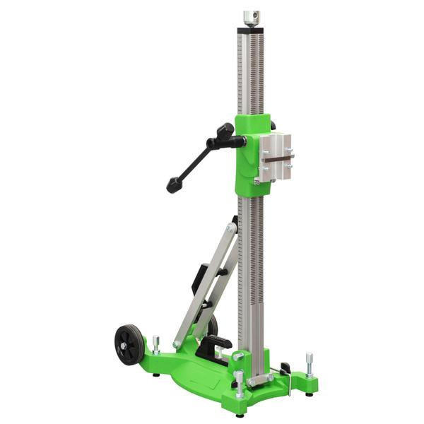 The sophisticated alignment with the latest and visible technology of the drill stand Drill-20 is particularly evident on pictures of the machine.