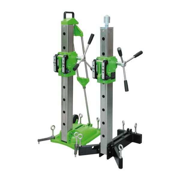 The enormous robustness and safety of the Drill-50 drill stand from the Xpert series can be heard in practice but can already be seen in the photos.