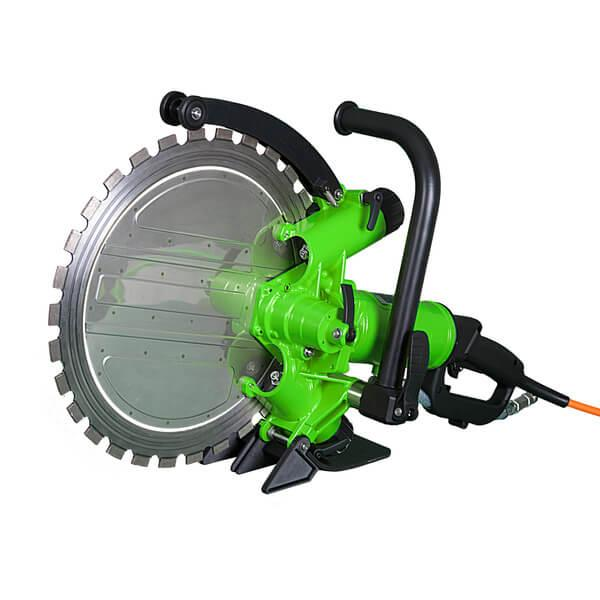 The green ring saw DRS-RS400 shares the drive unit with the DRS-TS400 or DRS-KS400 and can also be used via the Powerbox DRS-FU6C or DRS-FU6D.