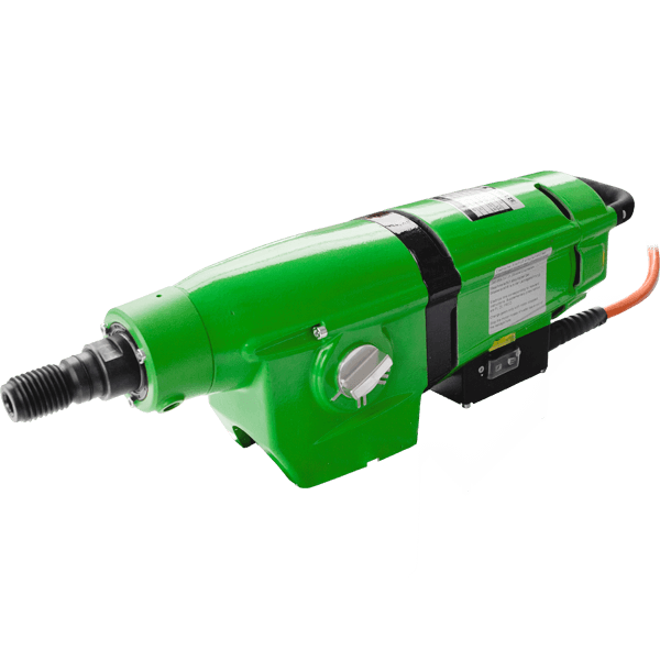 The latest generation of green and elongated DDM-33 drilling motor guarantees fast and safe drilling under the most difficult conditions on the construction.