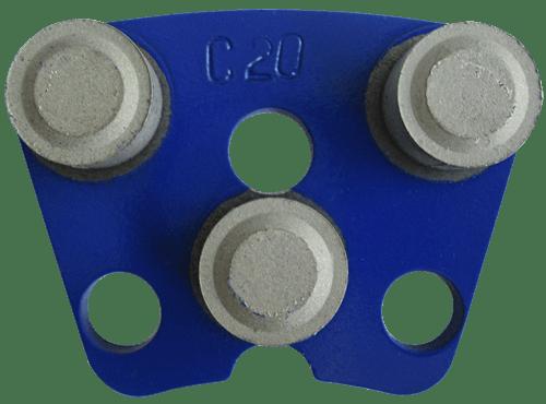 Schleifplatten DRS-3DP-C20…120