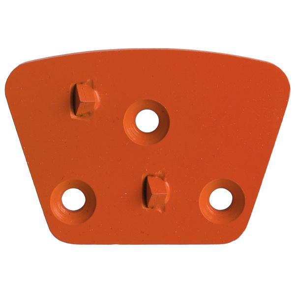 Das PKD und Fräswerkzeug GS-PCD-H ist in einem orangenen Farbton gestaltet und auf diesem modernen Produktfoto eindrucksvoll in Szene gesetzt worden.