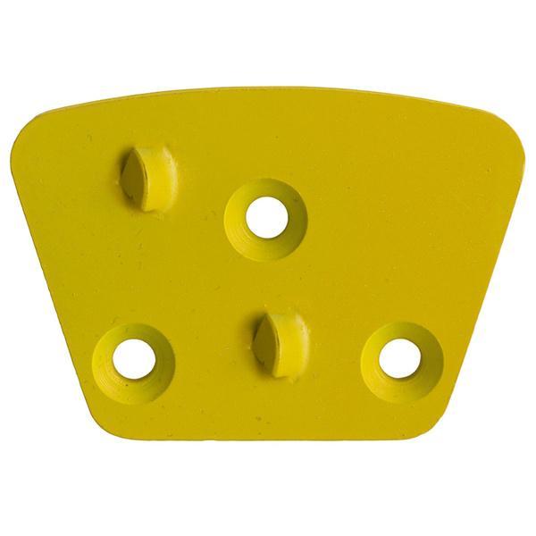 Das gelbe PKD und Fräswerkzeug GS-PCD-R eignet sich zur Bearbeitung diverser Flächen mit effektiven Ergebnissen für unterschiedliche Anwendungen.