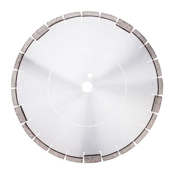 Außerordentliches Produktbild, welches die ansprechende Form und Farbe der Diamanttrennscheibe FB-H1…5 inklusive der andersfarbigen Randzackung zeigt.