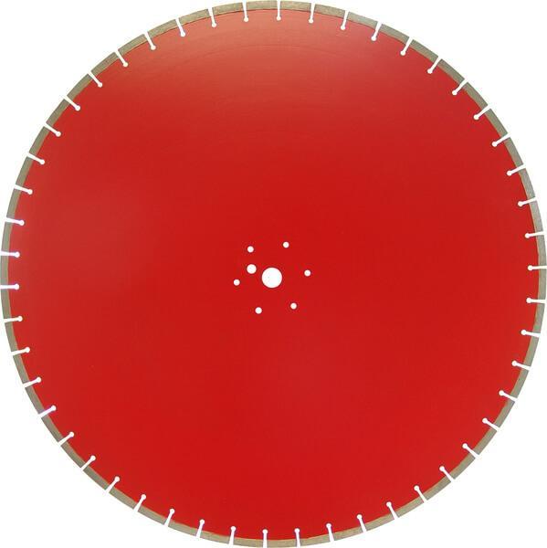 Die rot leuchtende DRS-SET-FS7,5W Diamanttrennscheibe für elektrische Fugenschneider eignet sich optimal für die lasergeschweißte Ausführung.