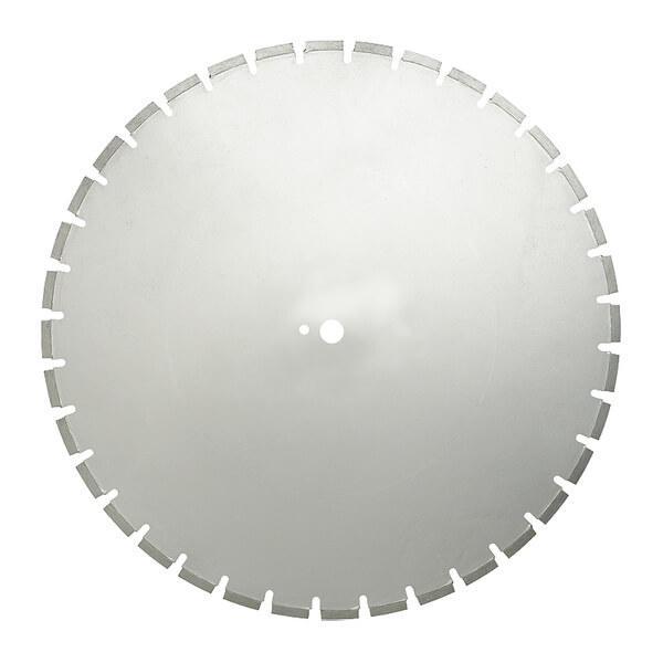 Auf den Produktfotos der silbernen W24 Diamanttrennscheibe für Fugenschneider ist bereits die Hochwertigkeit und perfekte Verarbeitung erkennbar.