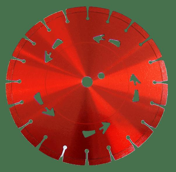 Die sehr auffällige und rote Diamanttrennscheibe Red Devil macht vor keinem Material halt und erledigt jede Aufgabe mit genauer und nachhaltiger Präzision.