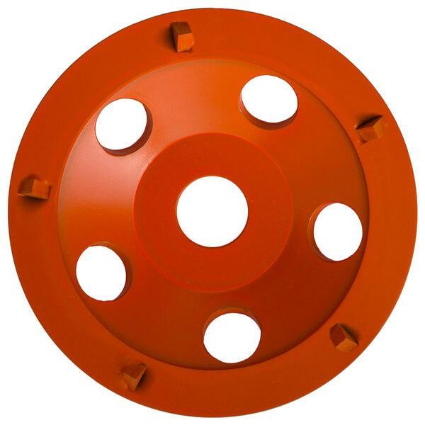 Die orangene Schleifplatte ST-PCD-H ist die beste Lösung zum Abschleifen von diversen Beschichtungen, Klebstoffen, Versiegelungen, Farben und vielem weiteren.