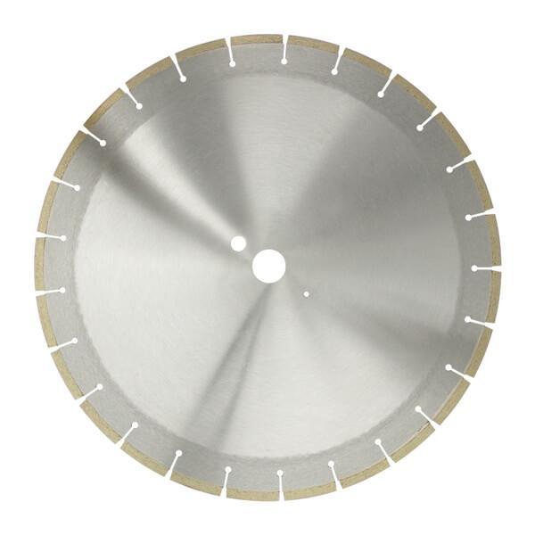 Runde und graue Trennschreibe ZAC mit einer Segmenthöhe von 7 mm. Der Durchmesser ist erhältlich in den Größen 350 -700 mm. Effektives und schneller Arbeiten.