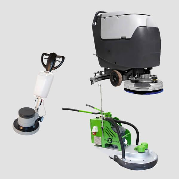 Polishing and cleaning machines