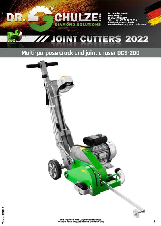 Joint cutter DCS-200