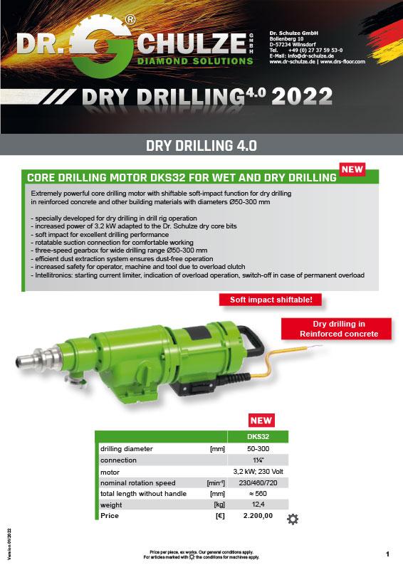 Dry Drilling 4.0