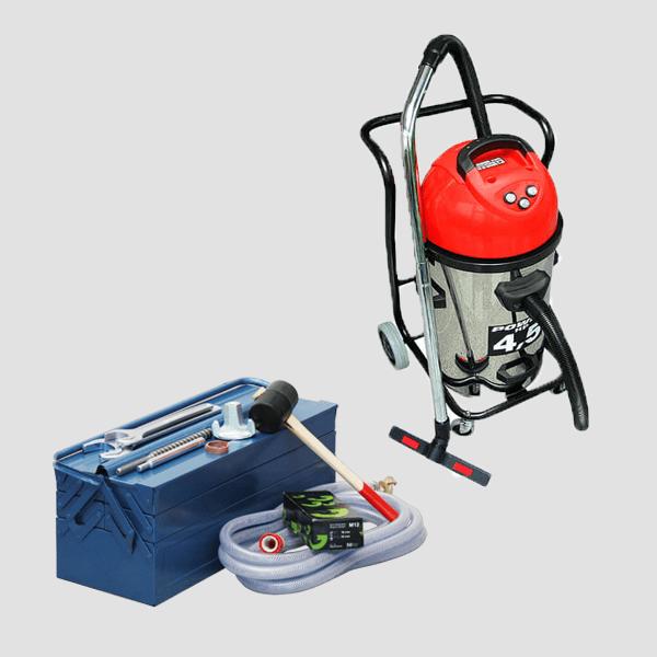 Zubehör passend zu den Maschinen der Dr. Schulze GmbH in den verschiedensten Variationen, Formen und Farben sowie hilfreichen Elementen und Werkzeugen.