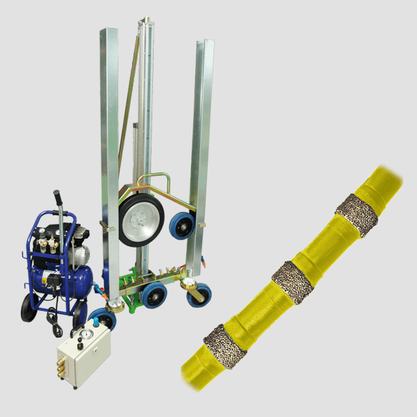 Wire saws for complicated and complex work, different colors for the different tasks and properties of wire saws for a fast and safe tillage..