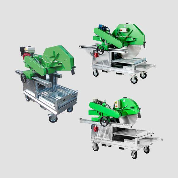 The robust block saws from Dr. Schulze GmbH are ideal for precise cutting and have various aids for fast work.